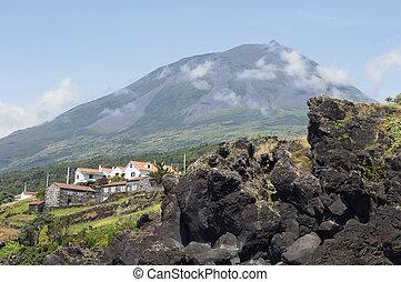 Pico volcano, Azores