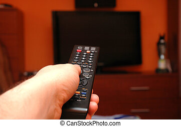 Remote control - Turn on TV with remote control
