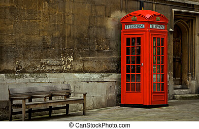 London  - Telephoto Booth in City of London