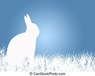 Easter Rabbit - An Easter illustration of an Easter rabbit...