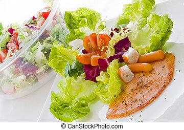 salmon, diet