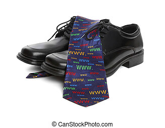 Business Man Internet Theme