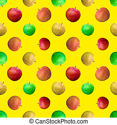 Background, apples
