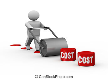 Lowering costs - One 3d man that crush costs with a...