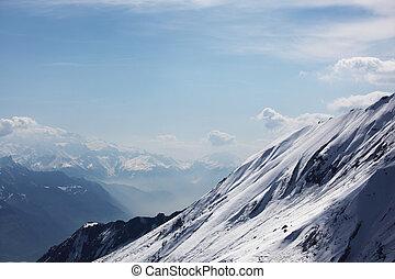 montagne, cima