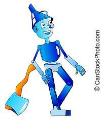 Tin Woodman - cartoon literary character