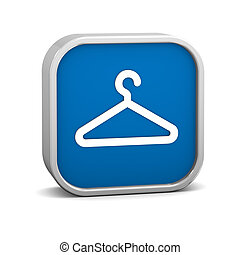 Coat Check Sign - Coat check sign on a white background....