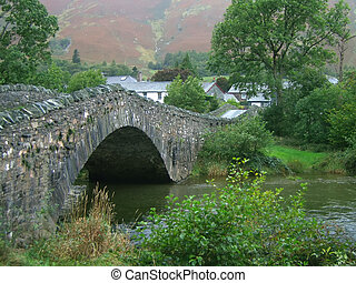 Grange Bridge - The bridge across the river at grange in the...
