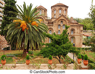 Panagia Chalkeon Church in Thessaloniki, Greece - Located in...