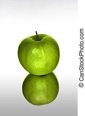 綠色, 蘋果