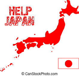 Japan earthquake disaster 2011 - map of Japan help...