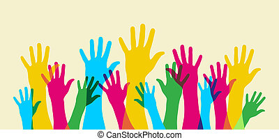 Up your hand. - Your hand up. Everybody opinion matters....