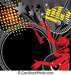 Music background - Illustration vector