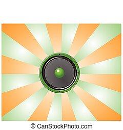 star burst speaker