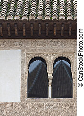 One and two   - Amazing detail in Alhambra, Spain.