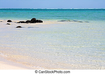 West Coast Mauritius - On the west coast of Mauritius,...