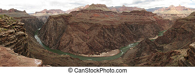 inner Grand Canyon panorama