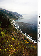 Big Sur in California