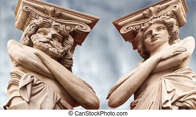 ATLANTA and Caryatid