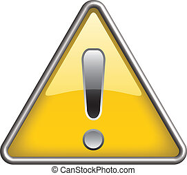 Ganarel warning icon symbol, icon - Ganarel warning symbol...