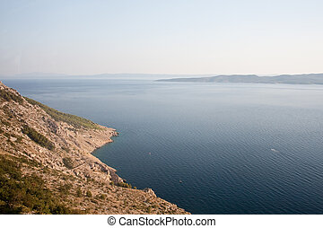 Adriatic coast of Croatia