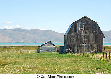 Old Barn - Old barn near Bear Lake, Idaho.