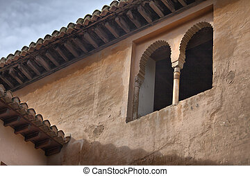 Afternoon in alhambra - Amazing detail in Alhambra, Spain...