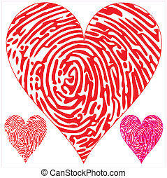 thumbprint hearts