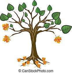 artistic tree rebirth
