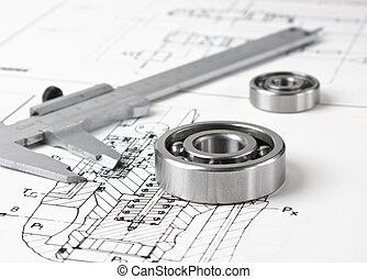 mechanical scheme and bearing - mechanical scheme and...