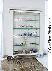 white cabinet - beautiful white cabinet in a modern...