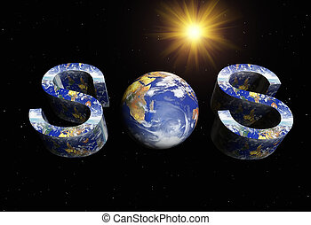 sos - save the earth