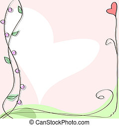 Vector greeting card. Mother's Day