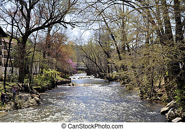 "Chattahoochee River - Mountain river nicknamed ""The Hooch"""