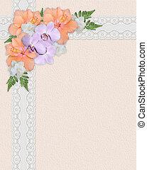 Spring Bouquet floral corner - Image and illustration...