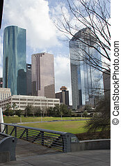 City of Houston City Scape - View of Houston Skyline from...