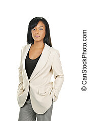 Confident black businesswoman - Successful black...