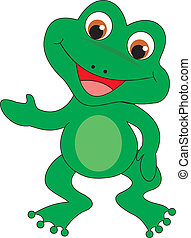 Frog vector - Frog isolated ob white background Vector...