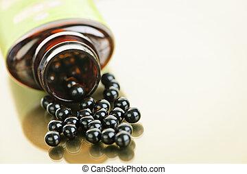 Chinese herbal patent medicine pills