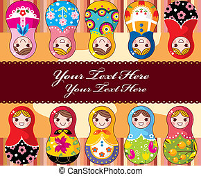 Russian Doll card  - Russian Doll card