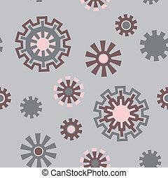 Geometric ornament - Seamless pattern geometric ornament on...