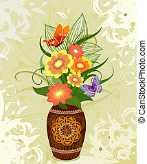 decorative flower in a vase