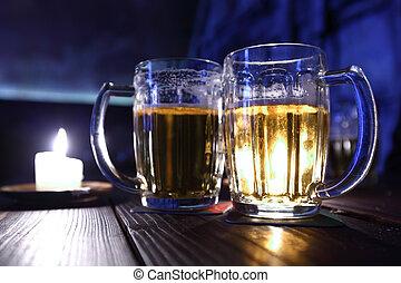 cerveza, Oscuridad