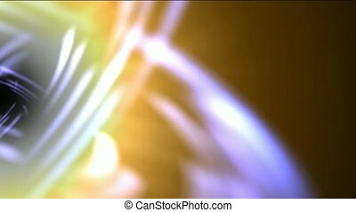 swirl curve light around black hole,tech energy laser field...