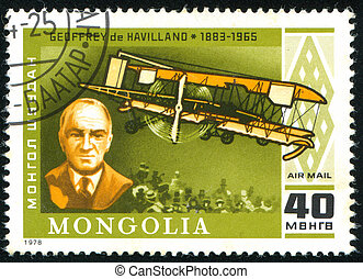 postage stamp - MONGOLIA - CIRCA 1978: stamp printed by...