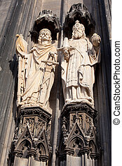 Cologne Cathedral- Detail