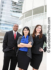 Business Workers at Office - Attractive diverse business man...
