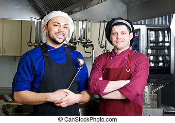 chefs with scoop