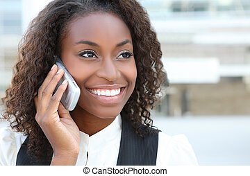 Pretty African Business Woman - A pretty African american...