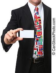 International Business Man - An international business man...